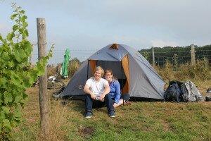 Modern tent
